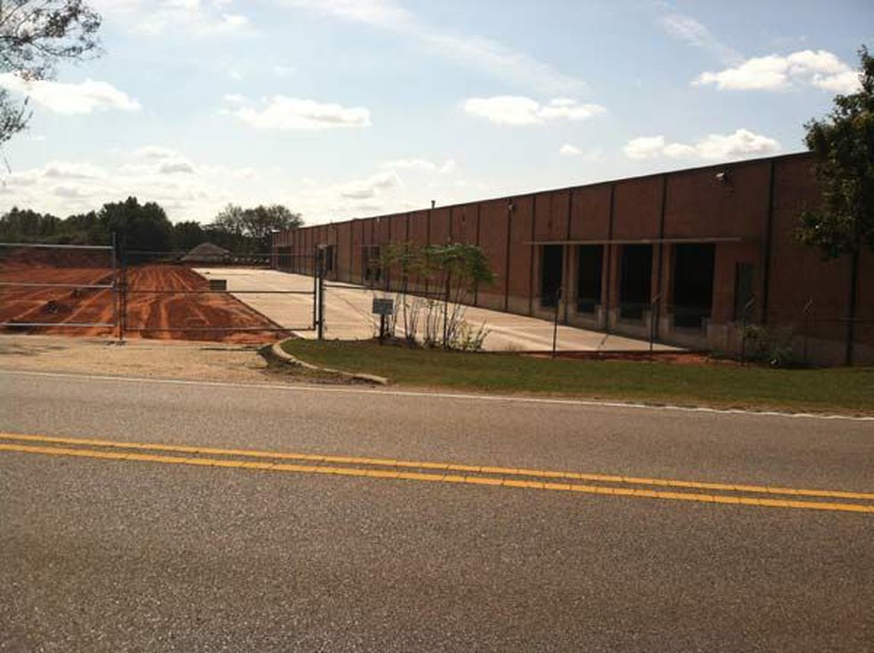 The site of the new DENSO facility in Montgomery.