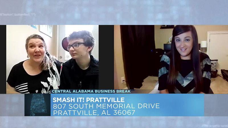 Central Alabama Business Break - Smash It! Prattville