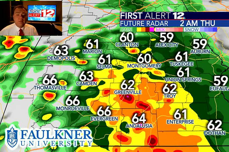 New update to the hour-by-hour forecast, as we track storms moving across the state.