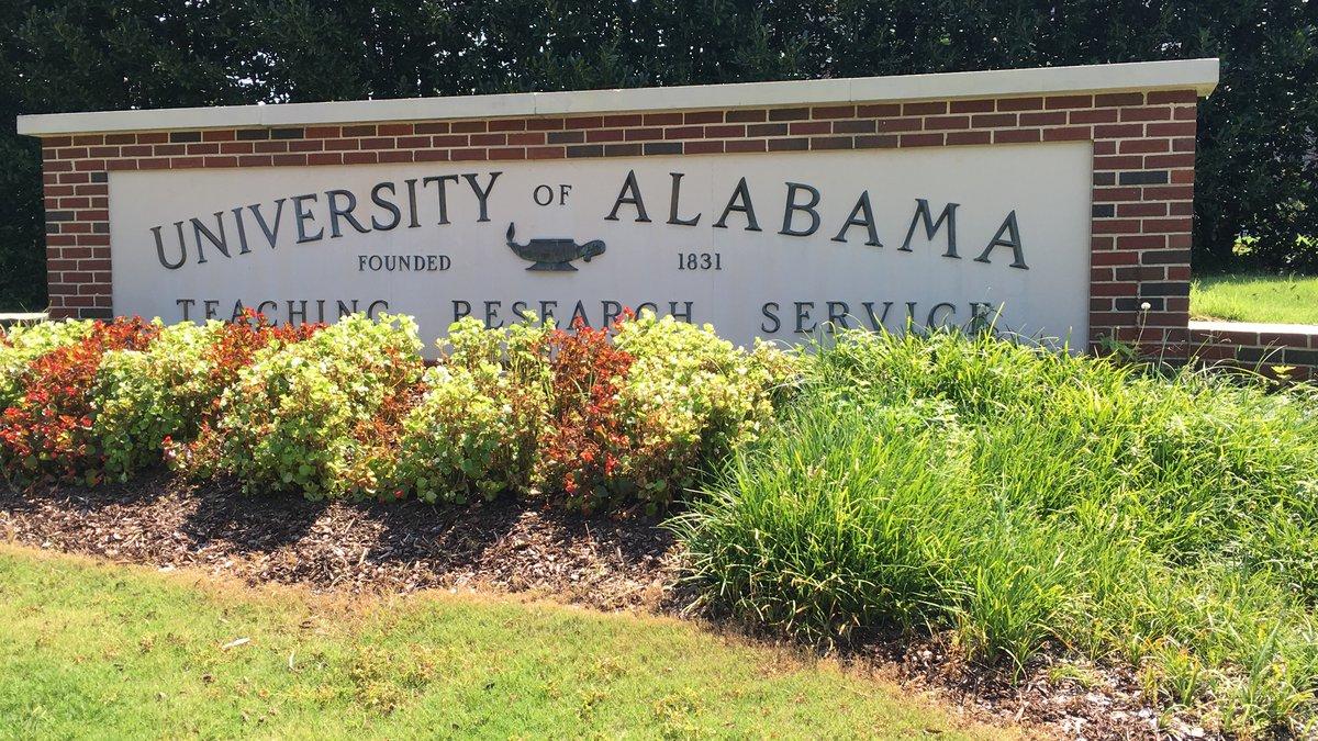 The University of Alabama campus.
