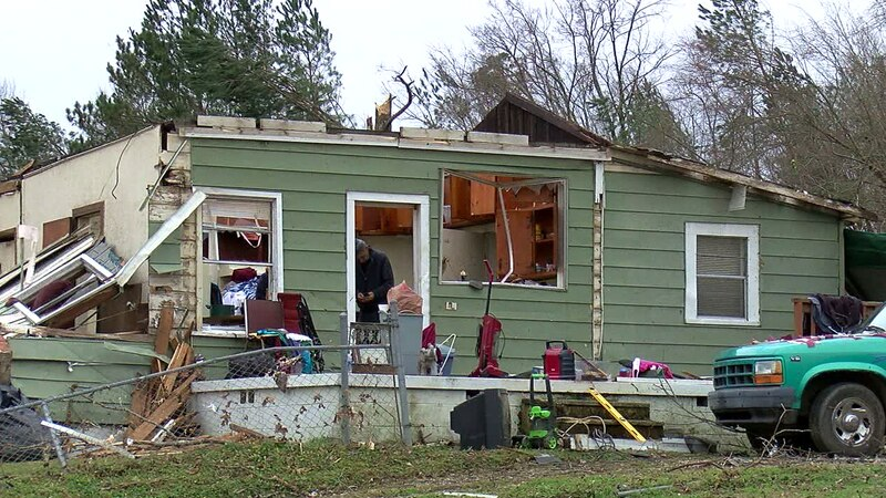 77-year-old Johnny Bullard, Fultondale tornado