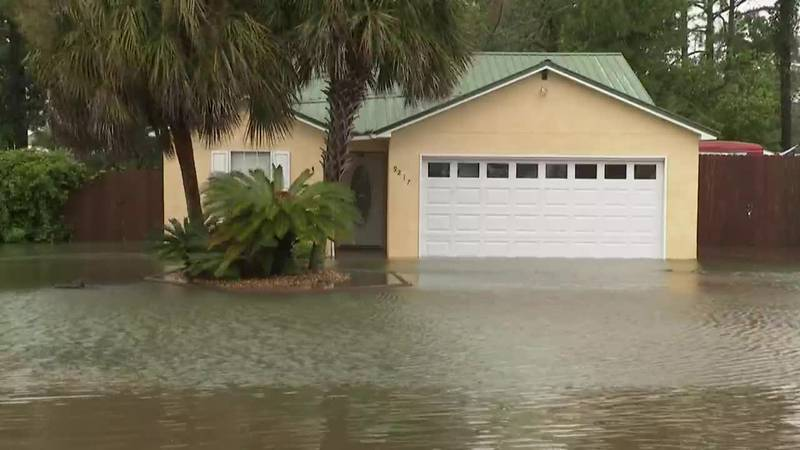 Flooding remains a huge issue in Florida and Alabama.