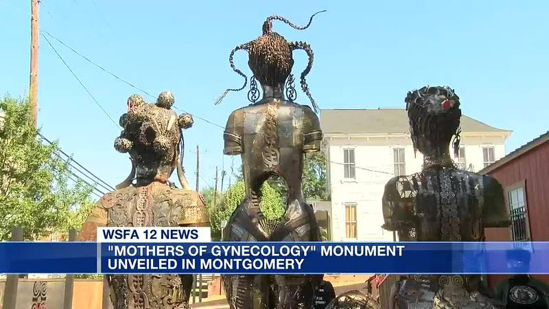 'Mothers of Gynecology' monument unveiled in Montgomery