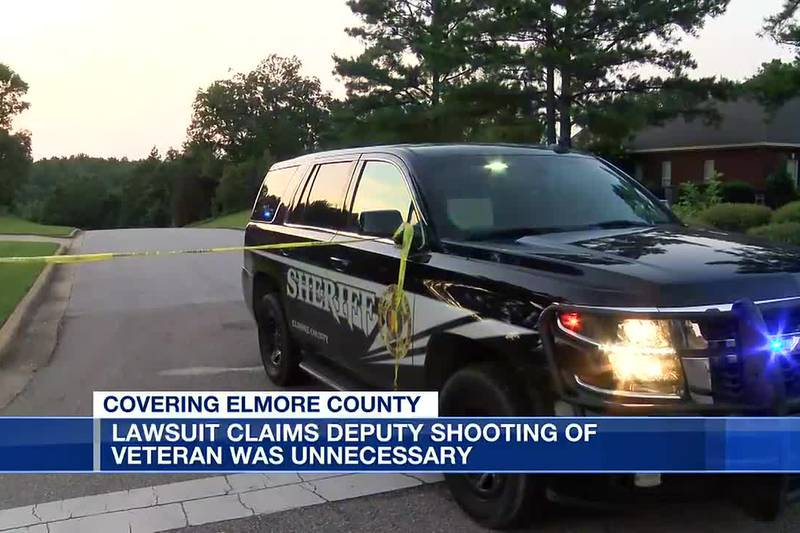Lawsuit claims deputy shooting of veteran was unnecessary