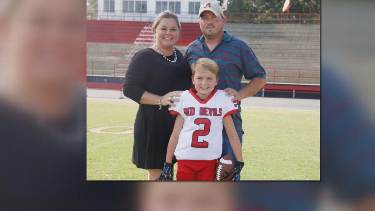 When State Senator Garlan Gudger, Jr. heard that 8-year-old Landen Godsey's parents were killed...
