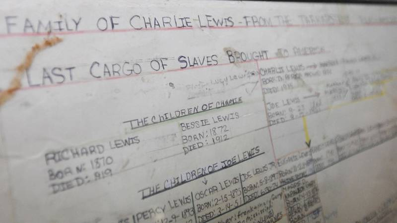 Lorna Gail Woods, a direct descendant of Clotilda survivor Charlie Lewis, explains her family...