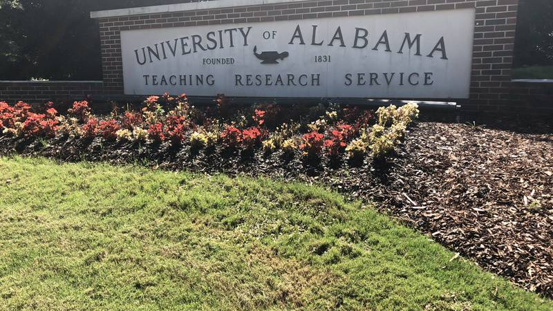 The University of Alabama campus