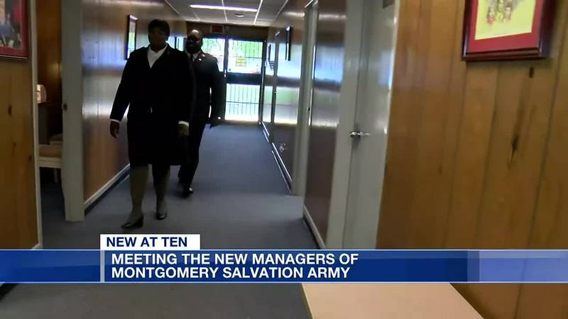 Meeting the new managers of Montgomery's Salvation Army
