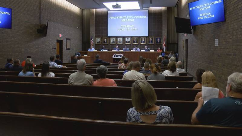 The Prattville City Council tabled a vote on whether or not to renew the city's 1-cent sales tax.