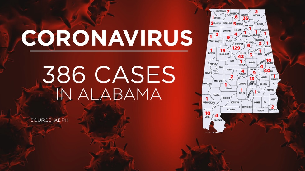 The Alabama Department of Public Health is reporting a surge of more than 100 new cases of...