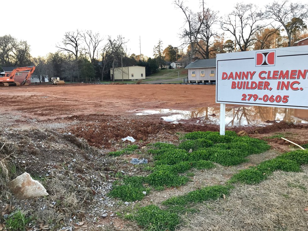 Contractor Danny Clements was issued a building permit on Jan. 21, 2021 to build a new Dunkin'...
