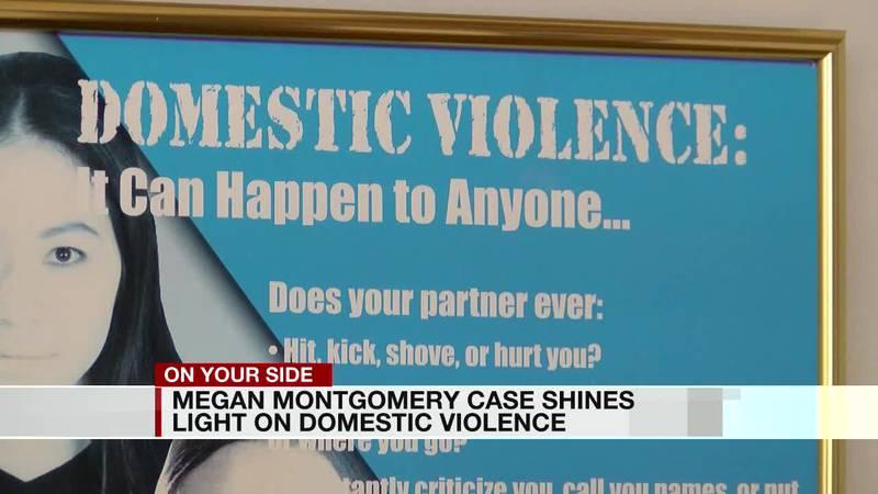 Megan Montgomery case shines light on domestic violence