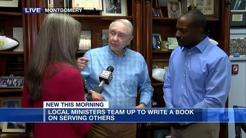 Local ministers team up to write book on serving others