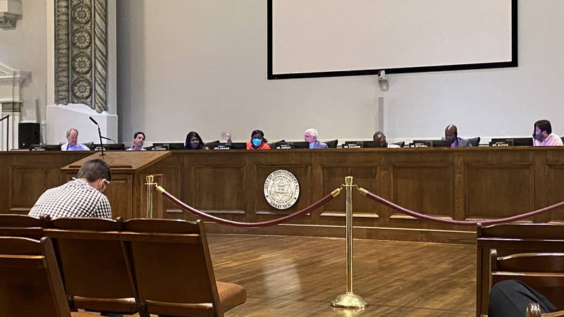 The Montgomery City Council discussed the fiscal 2022 budget on Sept. 14, 2021.