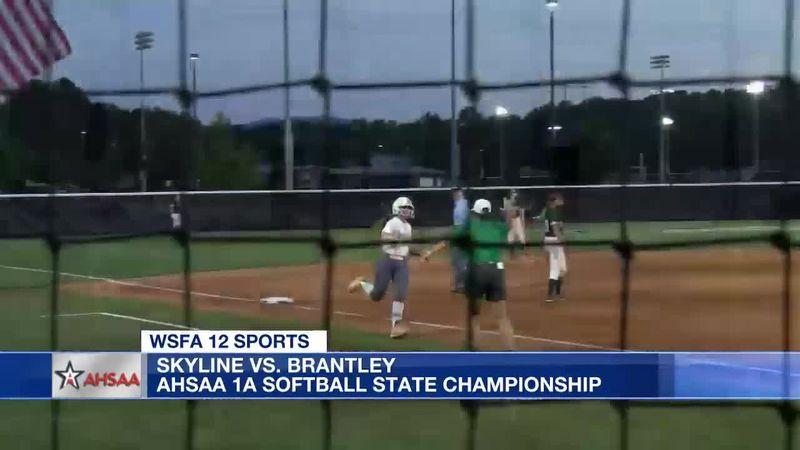 Brantley beats Skyline in AHSAA 1A state softball championship