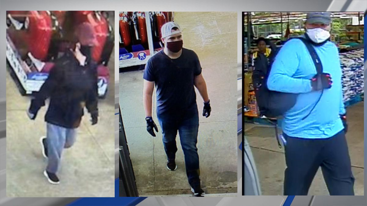 Do you recognize any of these people? They're believed to be involved in several fires at...