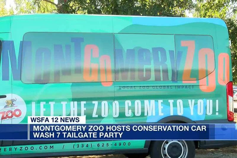 Montgomery Zoo hosts conservation car wash 7 tailgate party