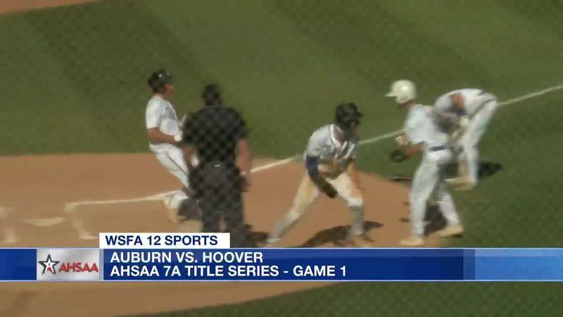 Auburn beats Hoover in AHSAA 7A title series - game 1