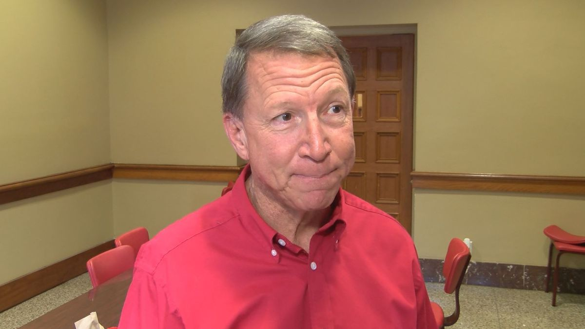 Huntingdon head football coach Mike Turk  talks about his team's upcoming playoff matchup...