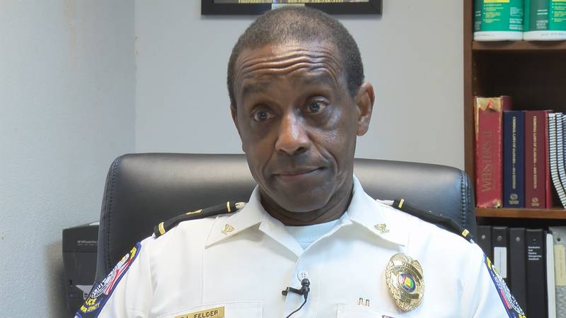Union Springs Police Chief Ronnie Felder has been suspended with pay until further notice.