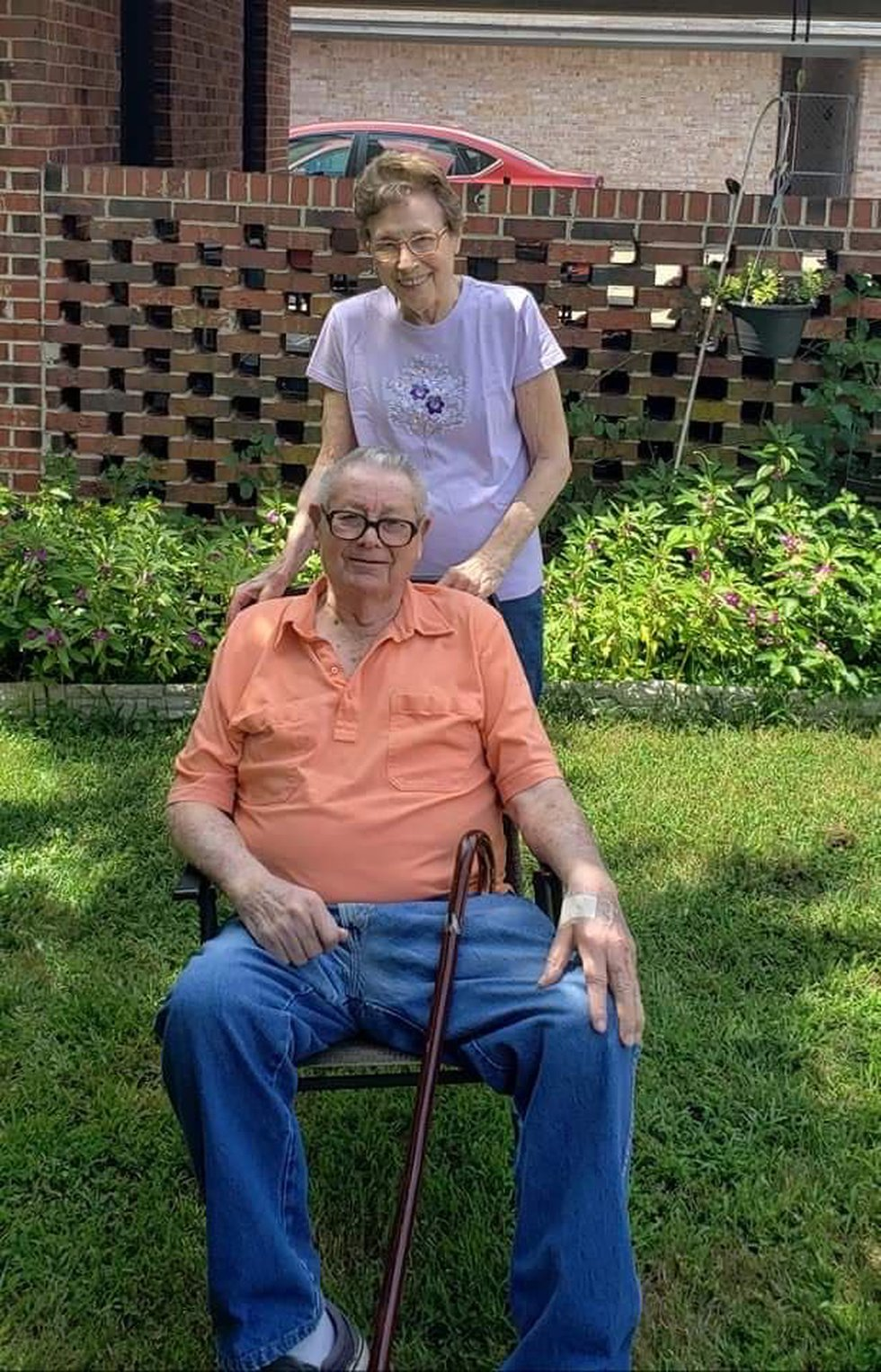 Both of her parents, Dorothy and Jean Jones, were diagnosed with COVID-19 less than a month...