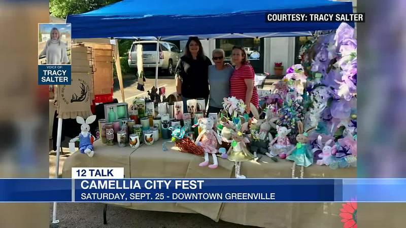 12 Talk: Greenville Camellia City Fest happening Saturday