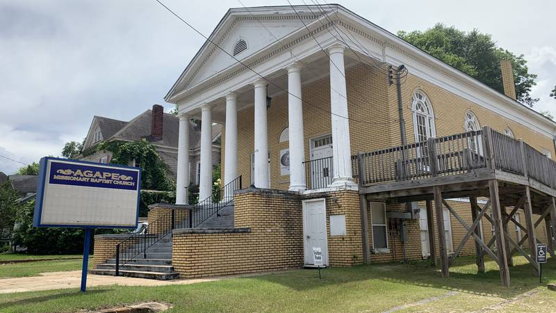 C.L. Ballard, Senior Pastor of Agape Missionary Baptist Church, said when they arrived to...