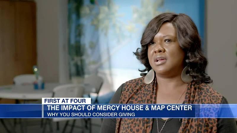 Board member Senitha Barnes talks Mercy House