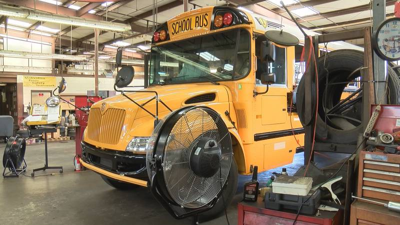 More than half the employees with Montgomery Public Schools' transportation department are...
