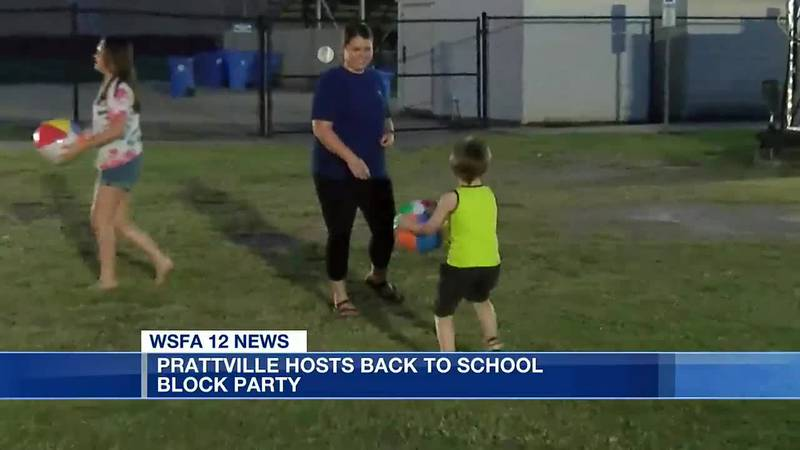 Prattville hosts back-to-school block party