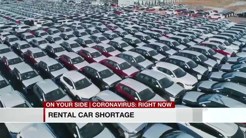 Rental car shortage