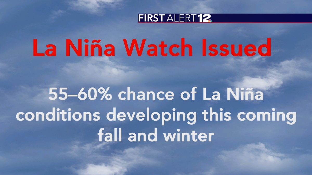 A La Niña Watch has been issued by the Climate Prediction Center