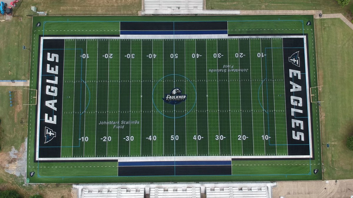 John Mark Stallings Field at Billy D. Hilyer Stadium is operational once again thanks to new...
