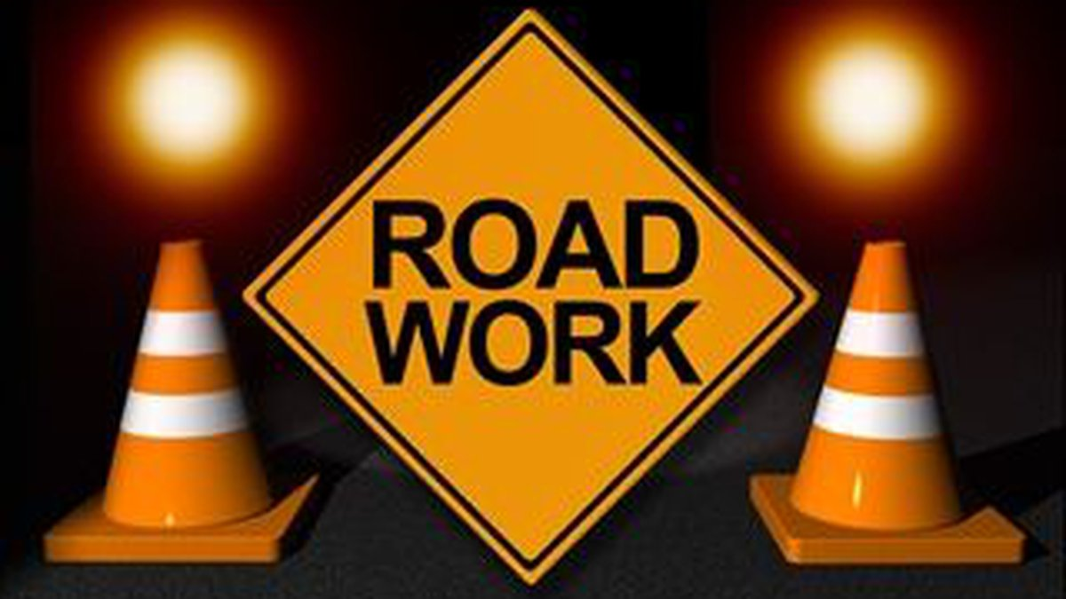 The left lane on I-40 in Pender County will be closed from mile marker 389 to 409.