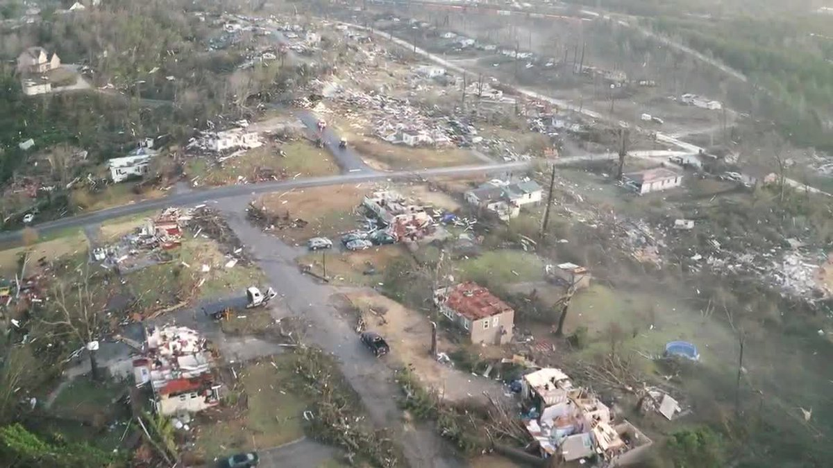 Fultondale residential structure tornado damage 1-26-21