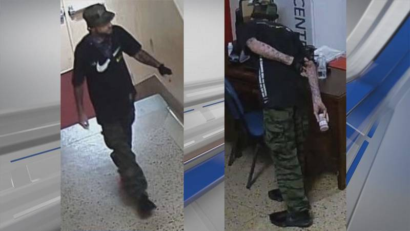 Montgomery police say this person broke into Capitol Heights Middle School on Aug. 22, 2021.