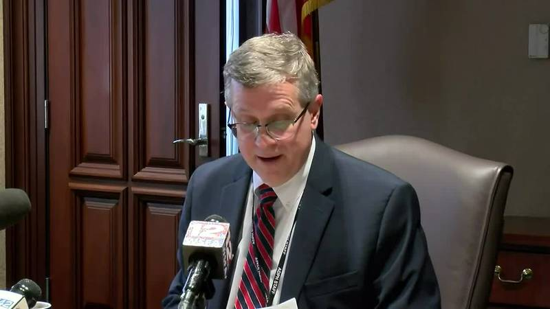 Alabama State Health Officer Scott Harris gives update on COVID-19 on Sept. 17