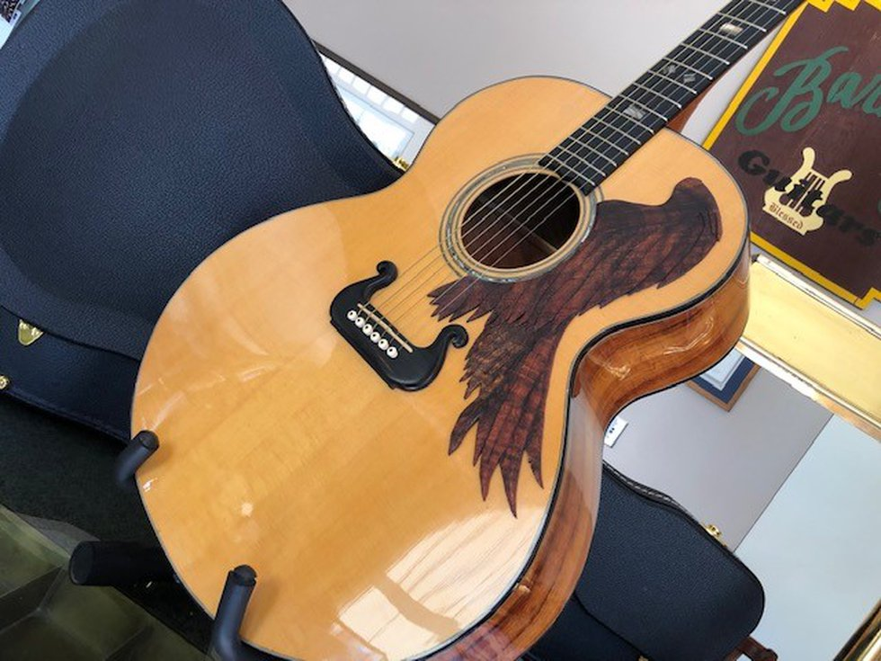 Montgomery resident Hank Teuton uses his Baruch Guitar making business to teach people a whole...