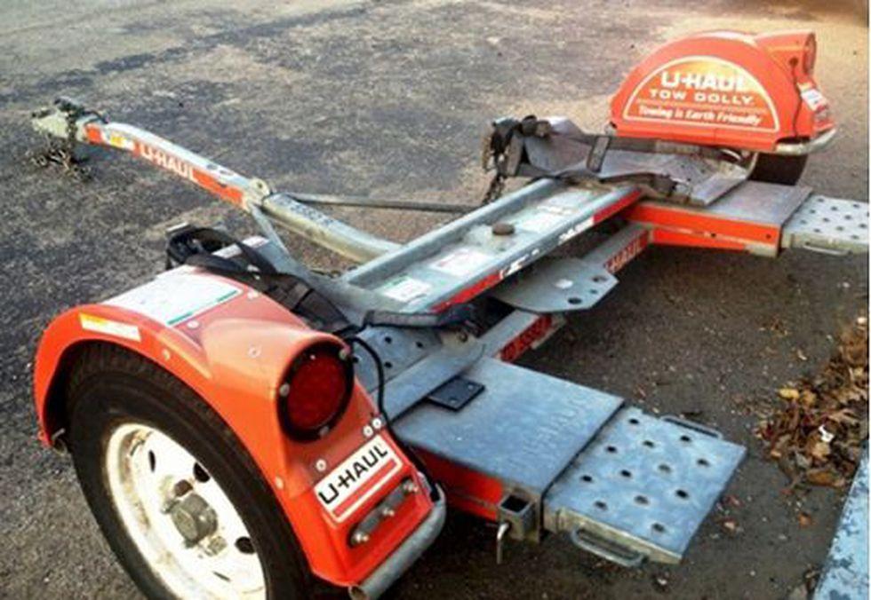 CrimeStoppers released an image of a newer model 2-door Dodge Ram truck that investigators say...