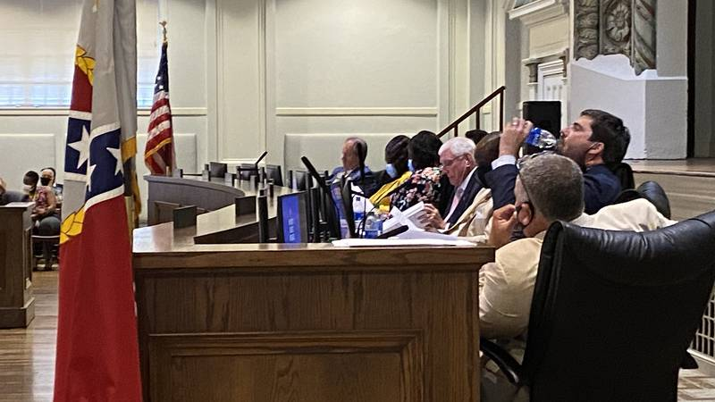 The Montgomery City Council voted down a proposed non-discrimination ordinance on Aug. 17, 2021.