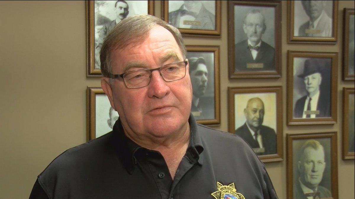 Limestone County Sheriff Mike Blakely