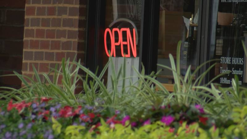 More Alabamians are shopping again.