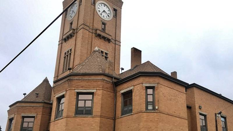The Macon County Courthouse