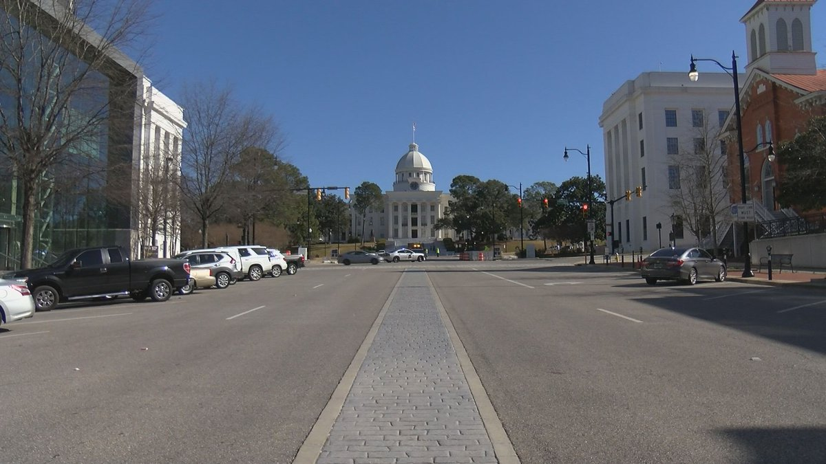 Montgomery officials say select downtown streets will close in response to protests planned in...