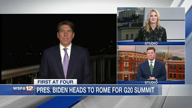 Biden heads to Rome for G20 summit