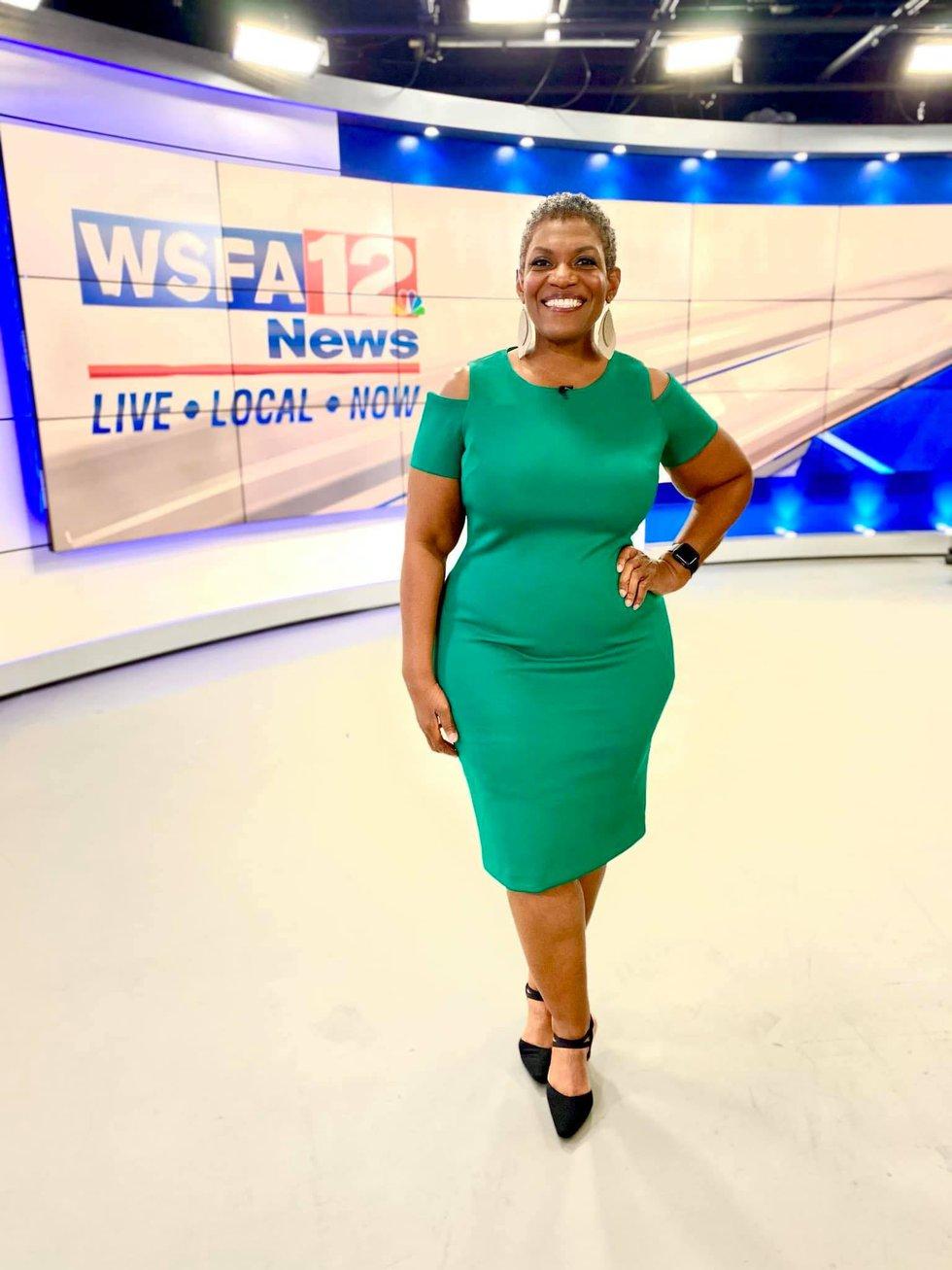 Tonya at WSFA 12 News' 445 Dexter Avenue location.