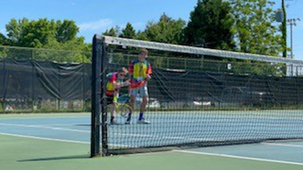 Dream Court held it's 6th Annual Unified Play Day at Lagoon Tennis Park.
