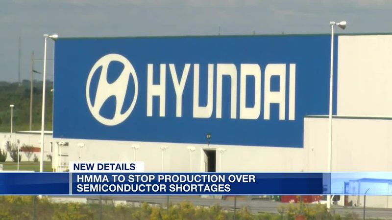 Hyundai to temporarily halt production