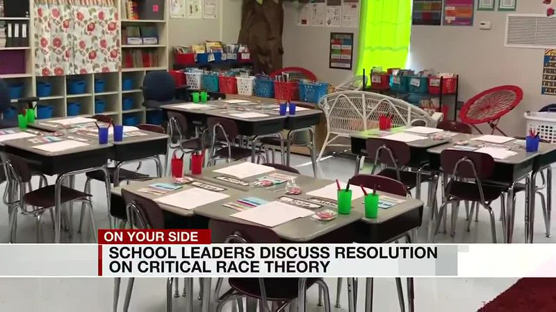 School leaders discuss resolution on critical race theory