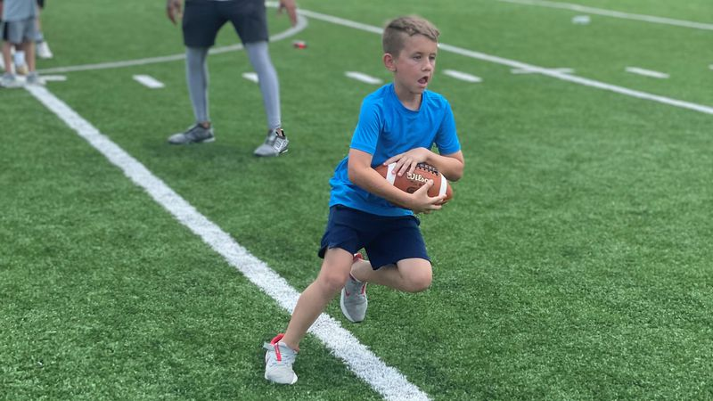 Pike Road hosted the Amp'd Up football camp on Saturday.